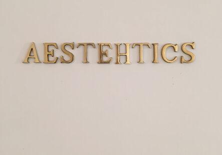 UBIK (b. 1985), 'Aesthetics I', 2016