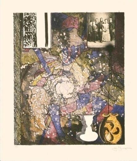 Jasper Johns, 'Untitled (American Center, Paris)', 1994