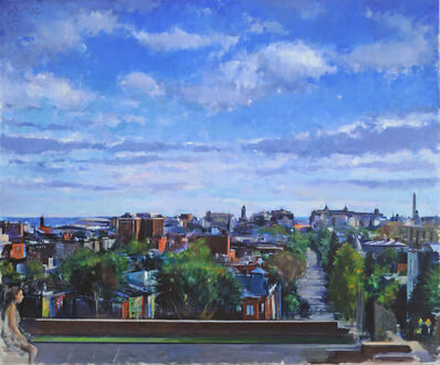 Martin Kotler, 'View from Clifton Street with Muse', 2011