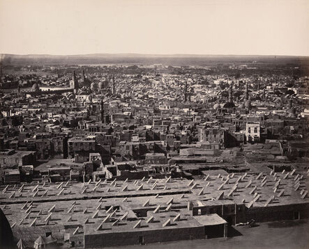 Francis Frith, 'View from the Citadel, Cairo, Egypt', 1858