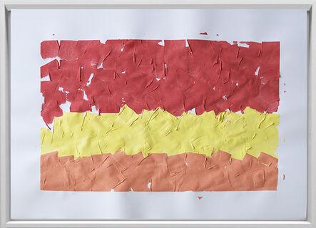 Rodrigo González Castellanos, 'Desgaste de la psicología del color, Calor', 2020