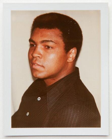 Andy Warhol, 'Andy Warhol, Polaroid Portrait of Muhammad Ali, 1977', 1977