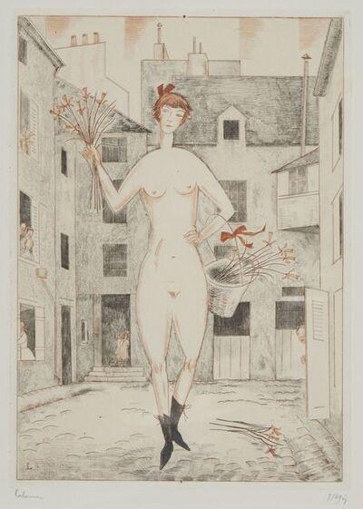 Jean-Emile Laboureur, 'La Folle', 1929