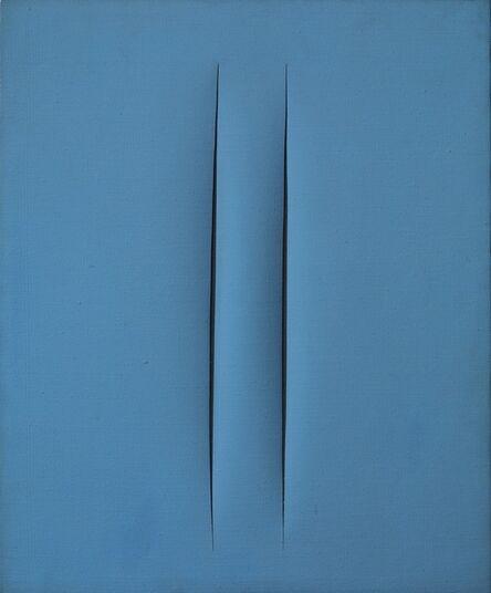 Lucio Fontana, 'Concetto spaziale, Attese', 1966