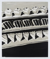 Wayne Thiebaud, 'Dark Cakes and Pies', 2006