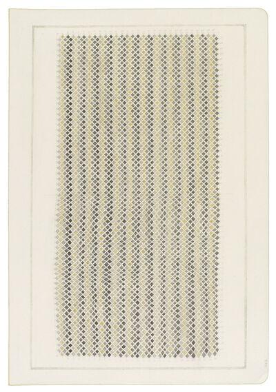 Jessica Deane Rosner, 'Ruled Unruled Snakeskin or 1,682 Diamonds', 2018