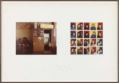 Franco Vaccari, 'Photomatic d'Italia', 1973-1974