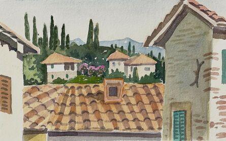 Susan Greenstein, 'View in Anghiari', 2018