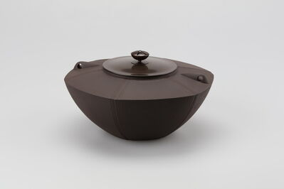 Hata Shunsai, 'Tea Kettle with Hexagonal Design', 2017