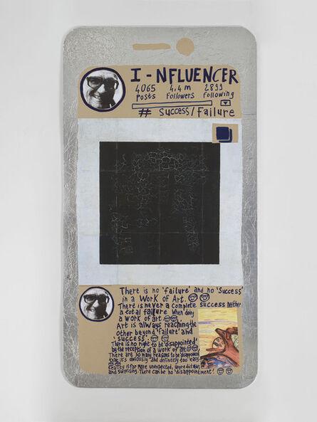 Thomas Hirschhorn, 'I-nfluencer-Poster (#Success/Failure)', 2021