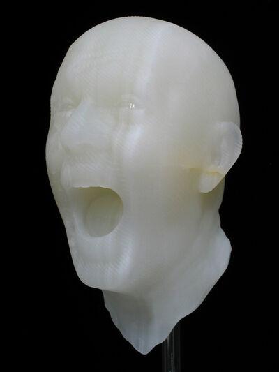 Barry X Ball, 'Dual Screaming Self-Portrait Ensemble', 1998-2006