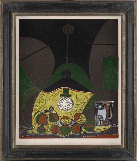 Pablo Picasso, 'Nature morte sous la lampe – Nature morte a la suspension (Still life below a lamp)', 1962