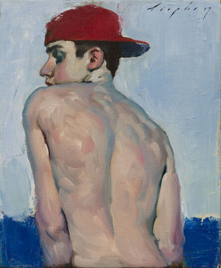 Malcolm T. Liepke, 'Red Hat', 2017