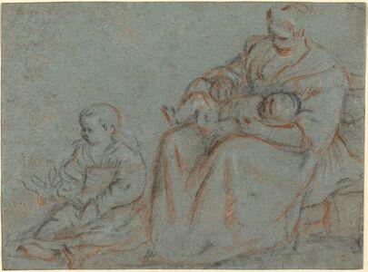 Gerolamo Bassano, 'Domestic Scene'