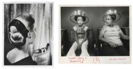 Murray Moss, 'TQ 37/38: Hair Piece for Midwinter/Beauty Shop', 1955/1979