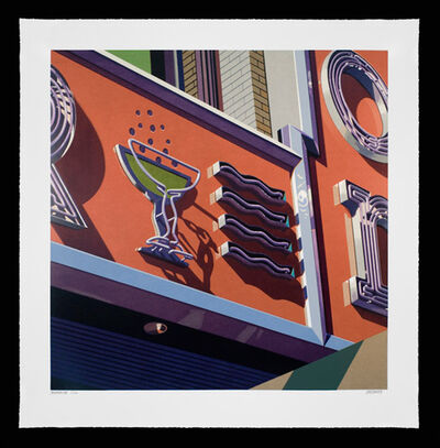 Robert Cottingham, 'Champagne, from American Signs Portfolio', 2009