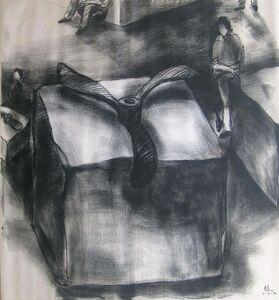 Kcho, 'Propellers &Stones', 2002