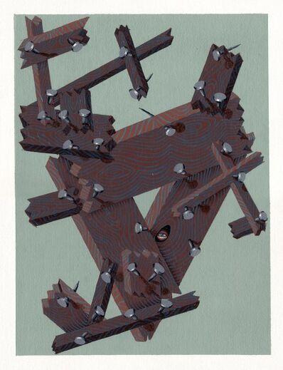 Matthew Couper, '100 Rings, (Dynamic)', 2015