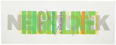 Alan Kitching FRCA RDI, 'Highline', 2013