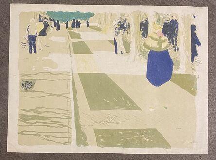 Édouard Vuillard, 'l'Avenue', 1899
