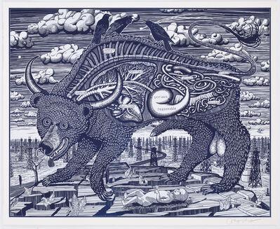Grayson Perry, 'Animal Spirit (Blue)'