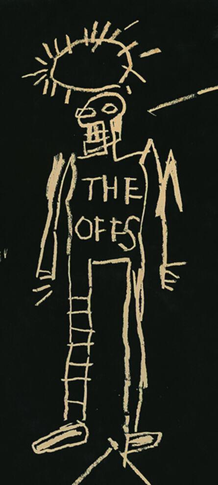 Jean-Michel Basquiat, 'Basquiat The Offs 1984 (1980s Basquiat record art)', 1984