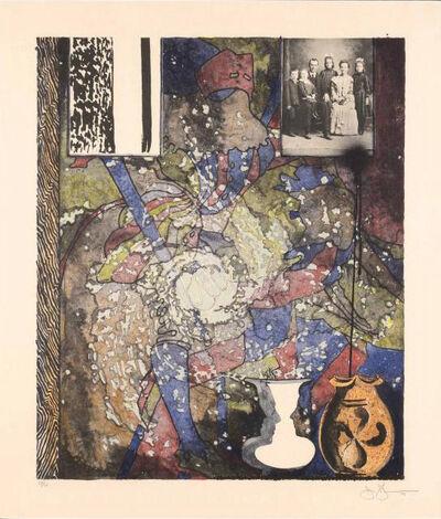 Jasper Johns, 'Untitled (American Center)', 1994