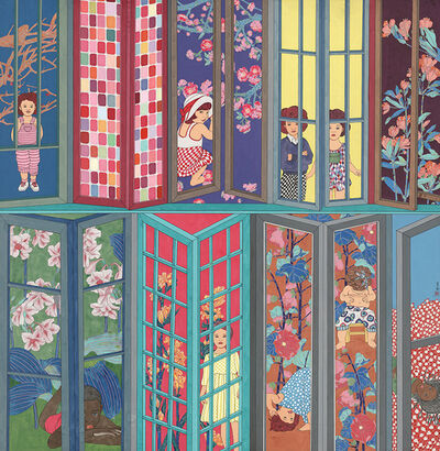 Liu Tianlian 刘天怜, 'Inside and Outside of Windows', 2015