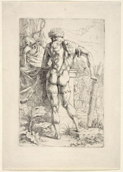 Leendert van der Cooghen, '[Warrior with Roman fasces]', 1666