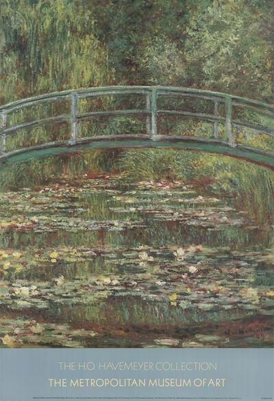 Claude Monet, 'Bridge Over a Pool of Water Lilies', 1987