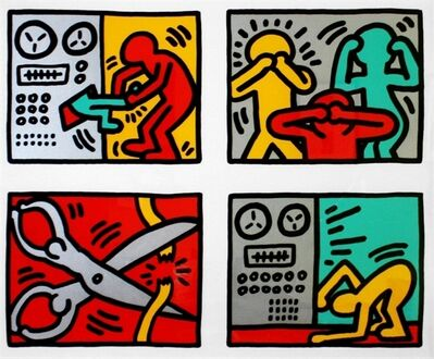 Keith Haring, 'Pop Shop Quad III ', 1989/1997