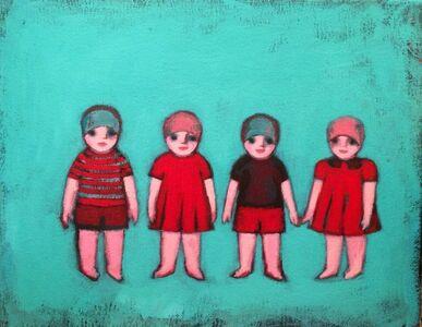 Ayse Wilson, 'Paper Dolls II', 2014