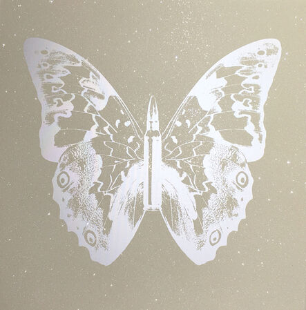 Rubem Robierb, 'Pearl on Sand Butterfly', 2014
