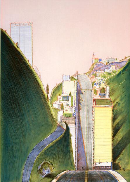 Wayne Thiebaud, 'Park Place', 1995