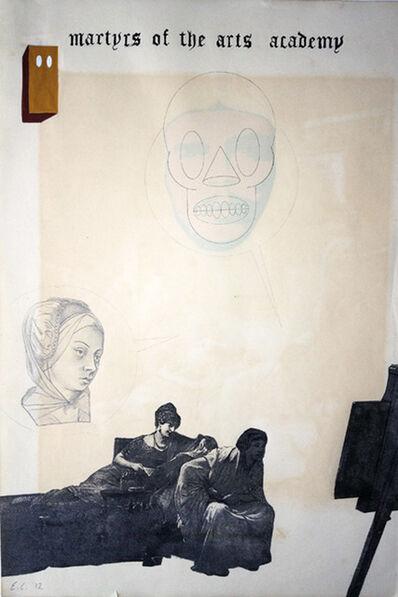 Enrique Chagoya, 'Ghostly Meditations (martyrs of the arts academy)', 2012
