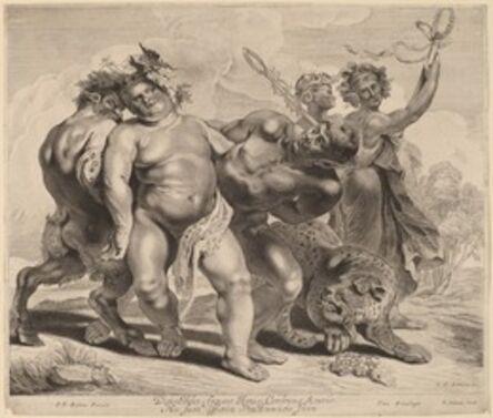 Jonas Suyderhoff after Sir Peter Paul Rubens, 'Drunkenness of Bacchus'