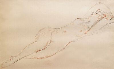 Paul César Helleu, 'Nu Endormi', 19th-20th Century
