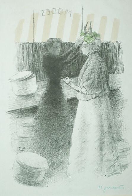 Félix Vallotton, 'The Green Hat (Le Chapeau Vert)', 1896