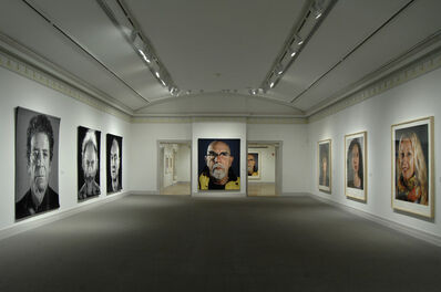 Chuck Close, 'Installation view of Chuck Close: Recent Works', August 10 , October 14, 2013