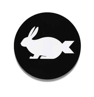"""Scott Patt, '""""bunnybomb"""" (black)', 2012"""