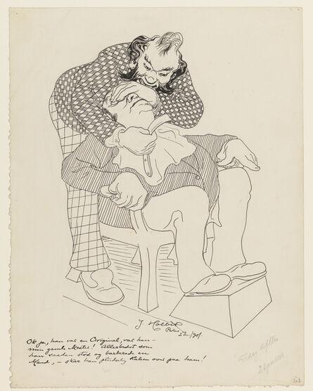Johannes Holbek, 'The barber', 1901