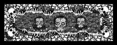 Chloe Trujillo, 'Skulls (Black & White)'