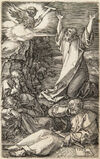Christ on the Mount of Olives, 1508, from The Engraved Passion