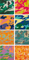 Andy Warhol, 'Camouflage (F. & S. 406-408 (2); 409-411; 413 (2)', 1987