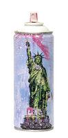 Mr. Brainwash, ''Liberty, 2020' (white) Spray Can', 2020