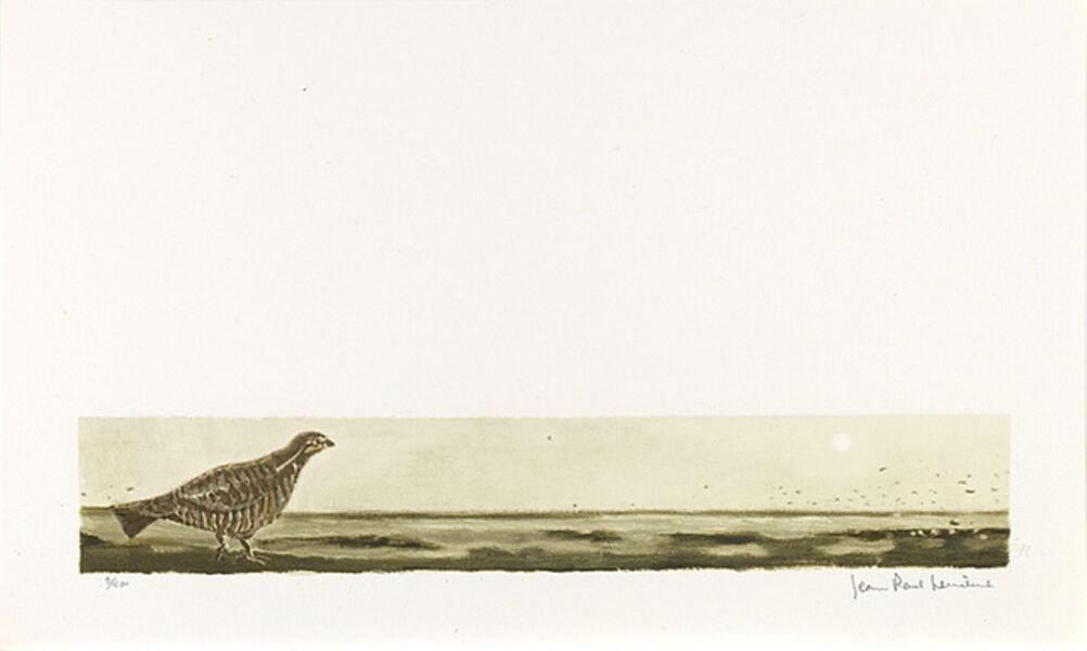 Jean Paul Lemieux, 'Sans titre (L'oiseau)', 1971