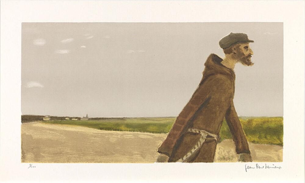 Jean Paul Lemieux, 'Sans titre (Portrait d'un moine)', 1971