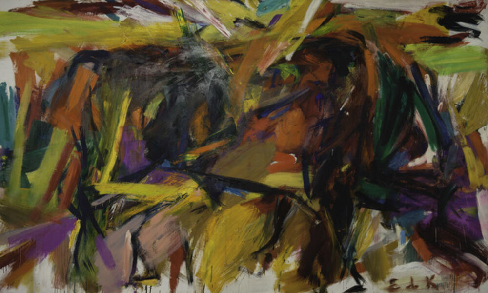 Elaine de Kooning, ' Bullfight', 1959
