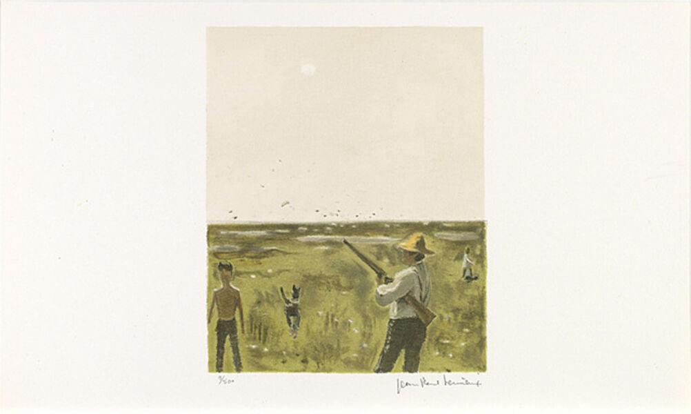 Jean Paul Lemieux, 'Sans titre (La chasse)', 1971