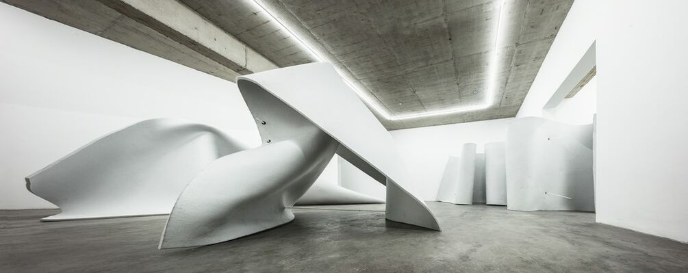 By Zhongba, installation view